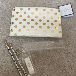 NWT Kate Spade Pencil bag